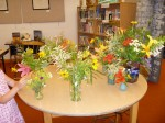 Kids' Flower Arranging